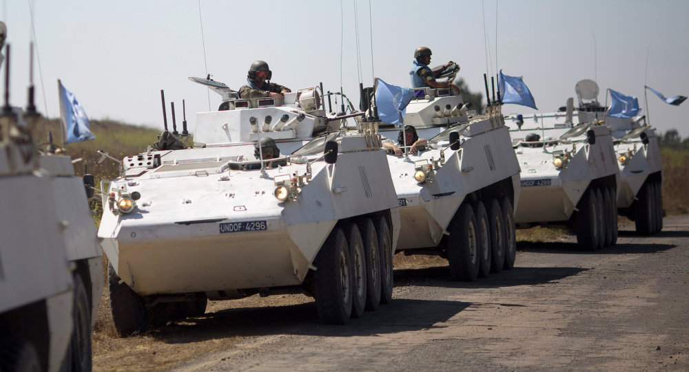 Russia aids UN operations on Golan heights