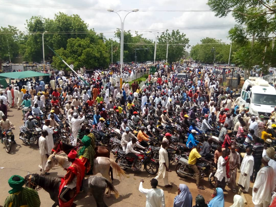 Politicians from 23 LGAs in Sokoto hold solidarity rally for Governor Tambuwal