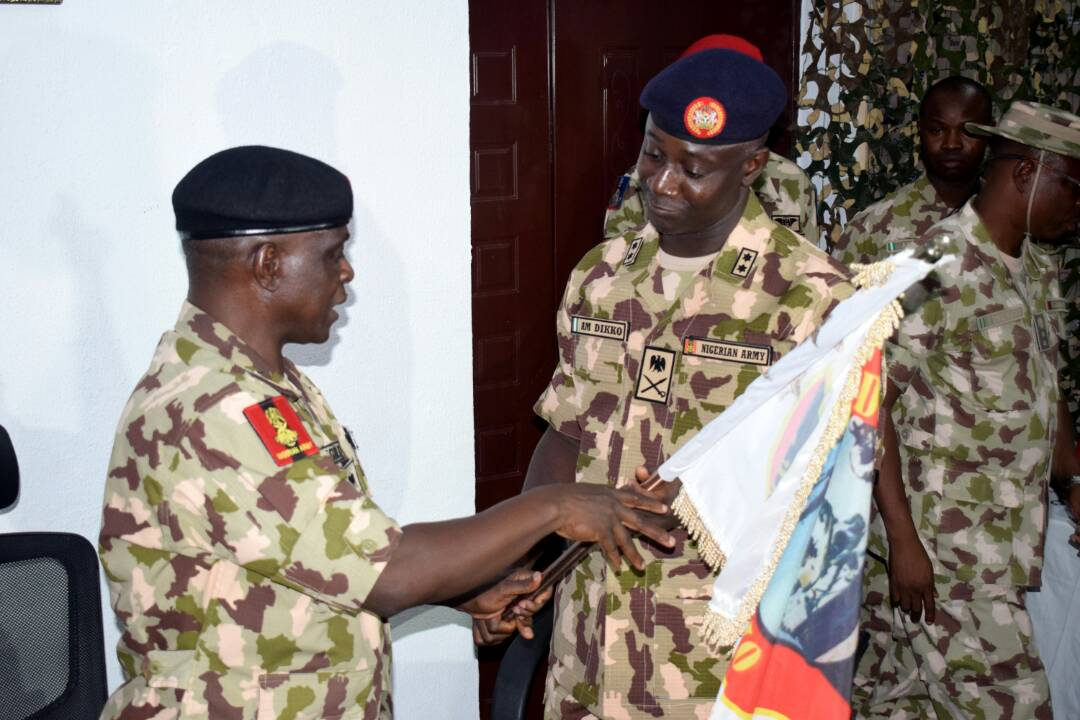 New commander takes over Operation Lafiya Dole