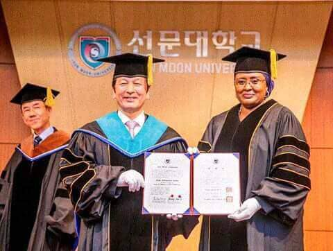 South Korean varsity honours Aisha Buhari with PhD