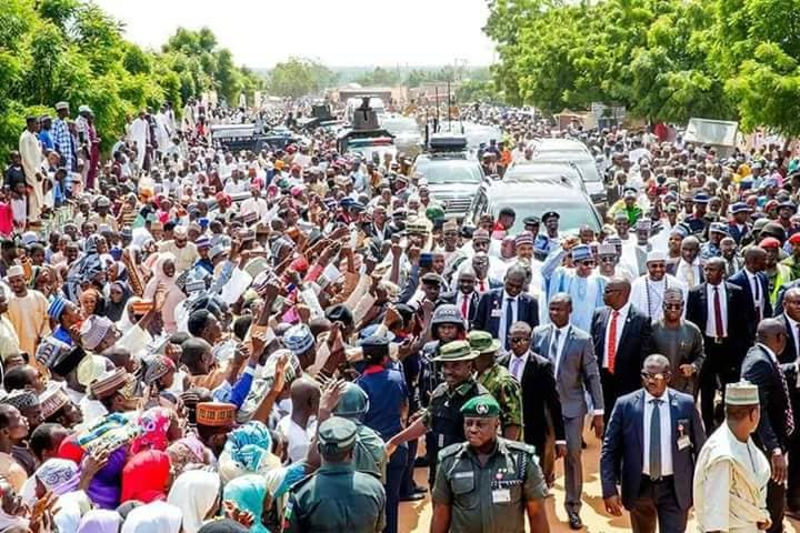 We are making steady progress towards food sufficiency – President Buhari