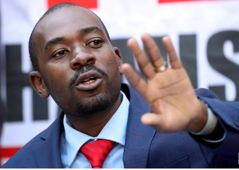 Zimbabwe's Chamisa rejects court judgment confirming Mnangagwa as president
