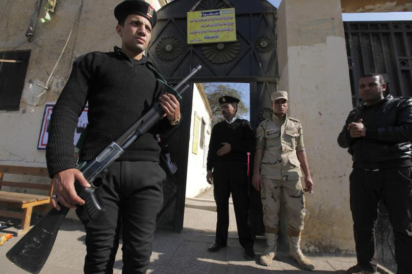 Egypt arrests seven alleged militants tied to failed church bombing
