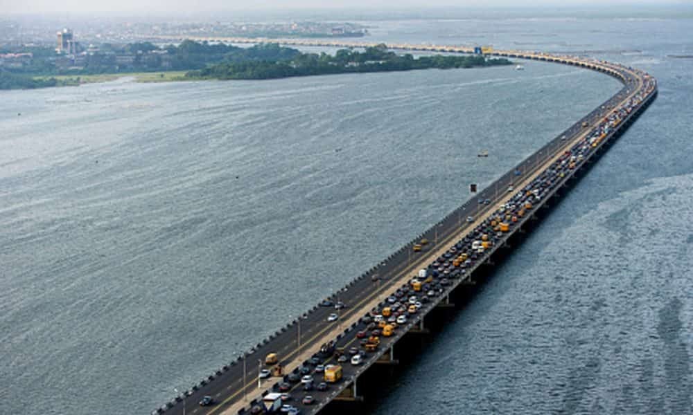 Third mainland bridge re-opens for vehicular movement