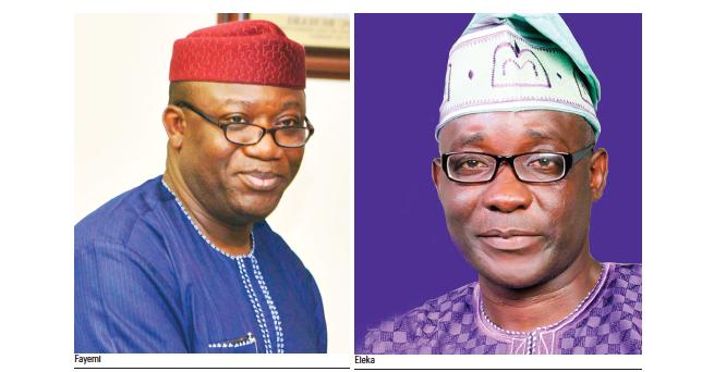 #EkitiVotes: PDP candidate, Kolapo Olusola drags Fayemi to tribunal