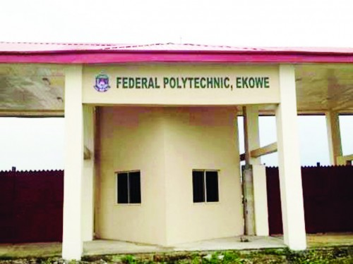 Federal Poly Ekowe Senior Staff demand 100% payment to avert strike