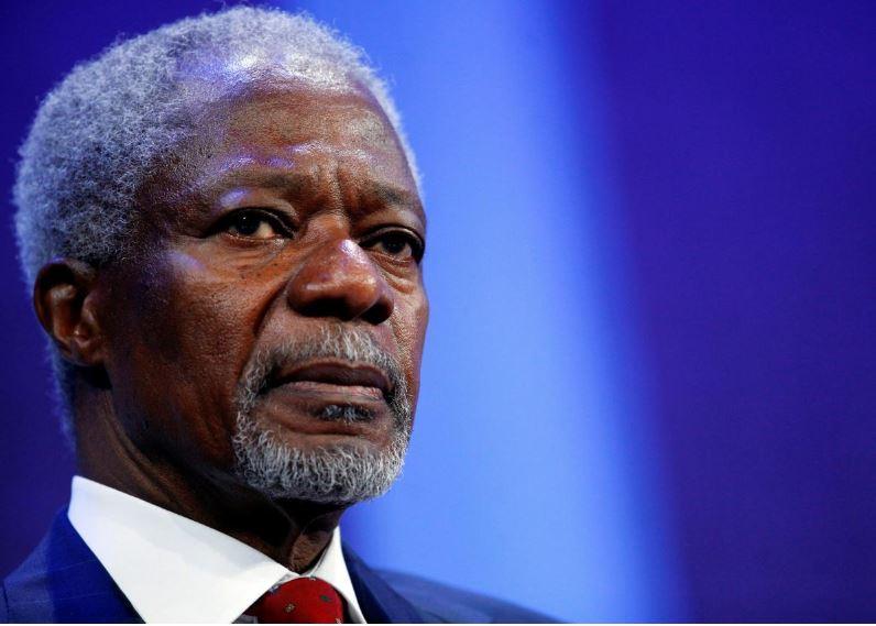 Former U.N. chief Kofi Annan to be buried in Ghana on September 13