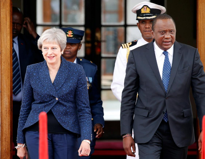 Britain committed to free trade with Kenya after Brexit -PM May