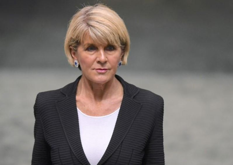 Australian Foreign Minister Julie Bishop resigns from Cabinet