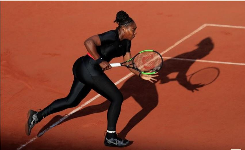 Serena laughs off 'catsuit' ban at French Open