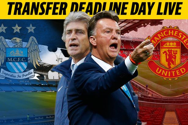 Its transfer deadline day in England