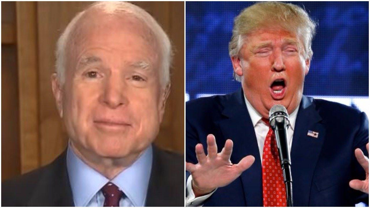 McCain bans Trump at funeral, Obama, Bush to give eulogies