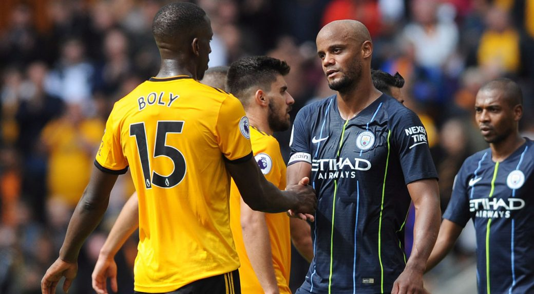 Wolves draw Manchester City
