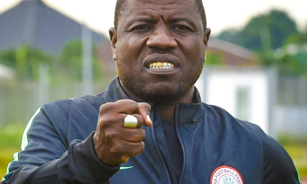 Super Eagles coach fined $5,000!