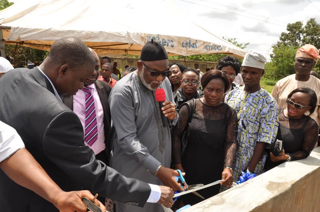 Akeredolu sinks 200 boreholes, repairs 700 in Ondo