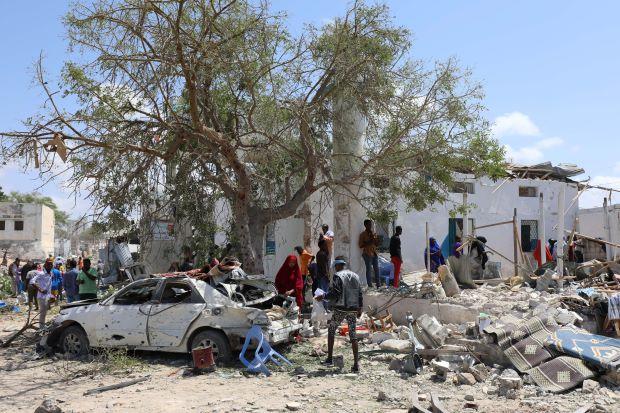 Car bomb destroys local govt office