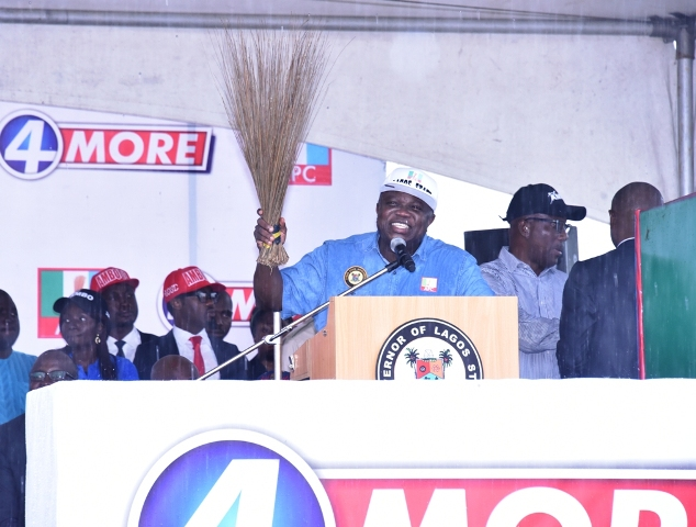 Ambode declares for second term, says I'm not tired