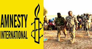 Amnesty urges FG to release Panel report on Human violation by military