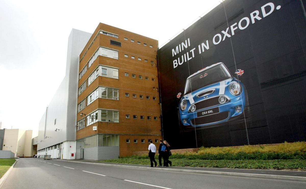 BMW Mini factory in Oxford to shut down for a month after post-Brexit