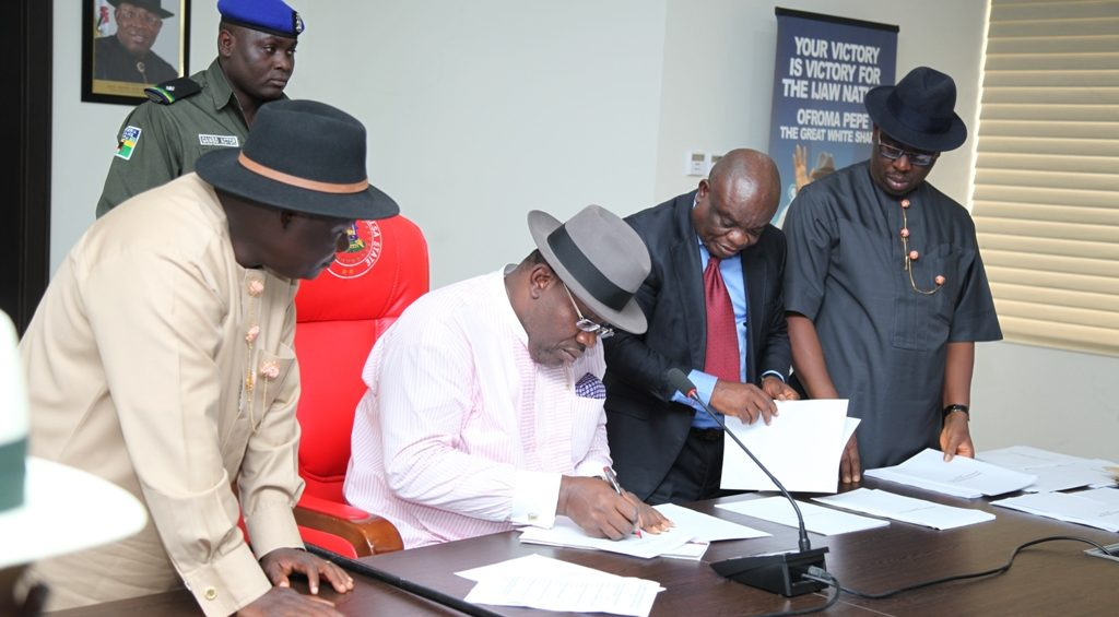 Dickson signs Bayelsa Medical University bill into law