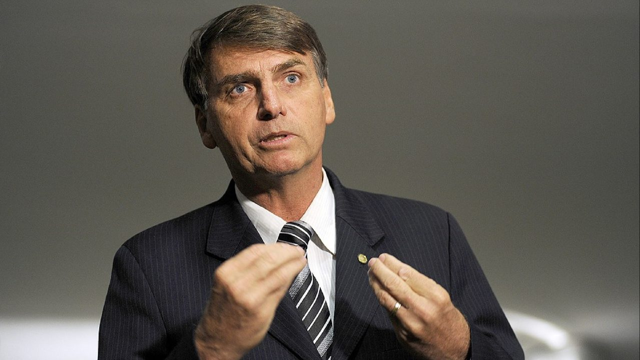 Assailant stabs Brazilian presidential front-runner, Bolsonaro at rally