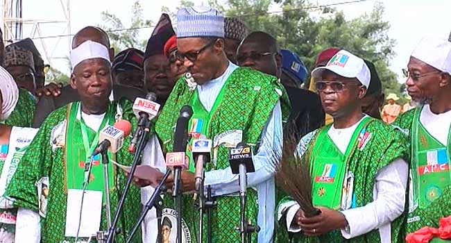 Buhari commends Aregbesola, says Osun must remain APC