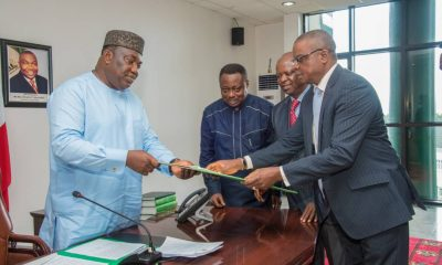 Enugu State Governor signs health sector reform bill into law