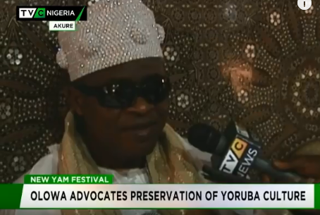 Yam festival: Igbaraoke monarch advocates preservation of culture