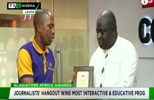 TVC's Journalists' Hangout wins most Interactive, Educative programme