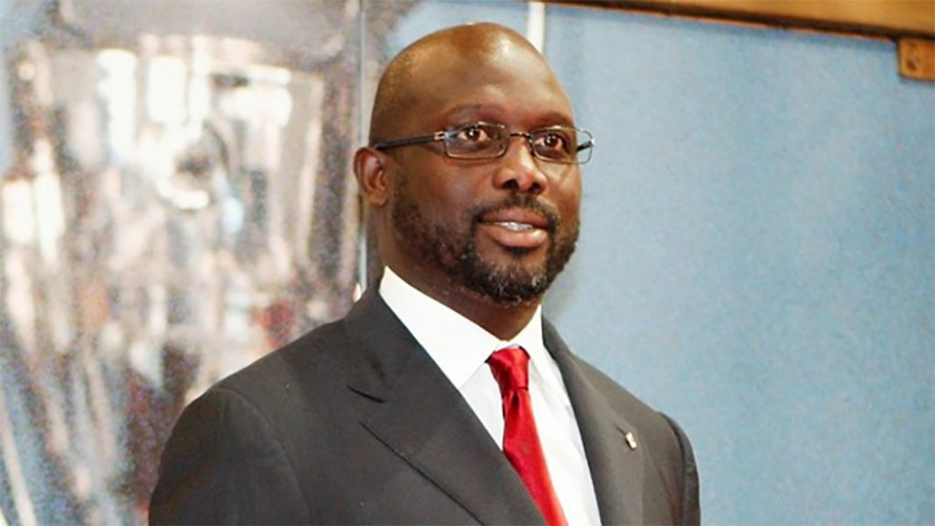 Liberia President Weah wants another African winner for Ballon d'or
