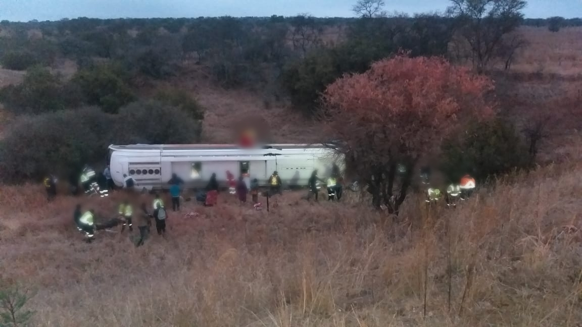 Ten dead, 34 injured in Limpopo bus crash