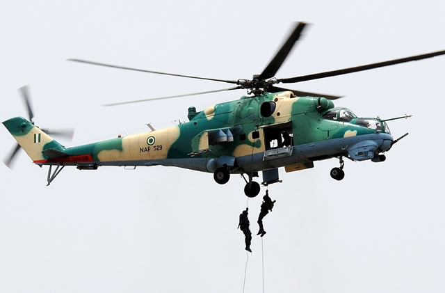 NAF destroys Boko Haram facilities, neutralises several insurgents in Borno
