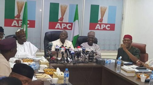 APC NWC urges members to maintain peace within party