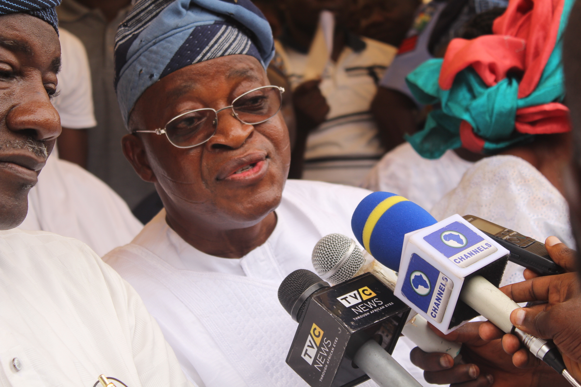 Osun 2018: APC members walk in support of Oyetola