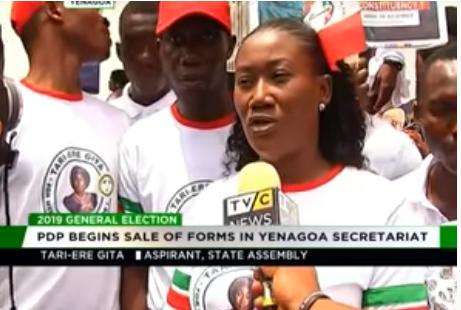2019: PDP begins sale of nomination forms in Yenagoa secretariat