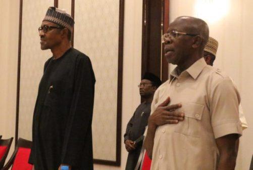 5 PDP governors woo Buhari over 2019 election