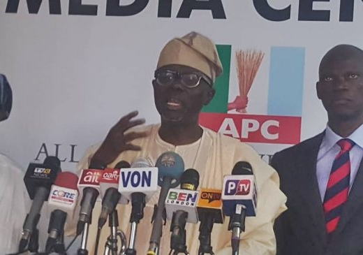 Sanwoolu submits gov nomination form, vows to take Lagos to next level