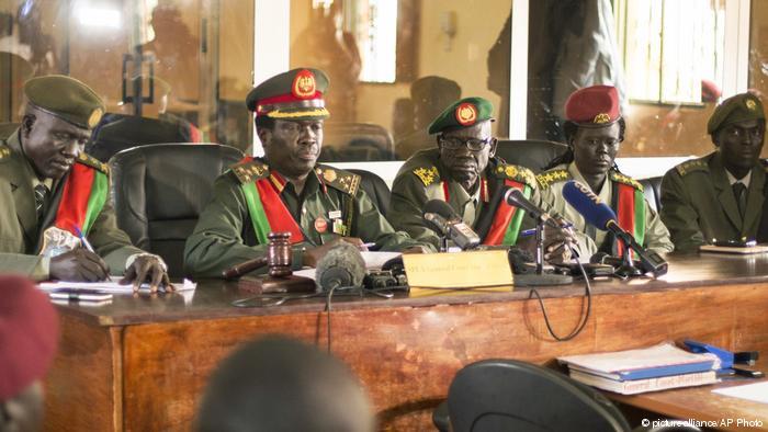 South Sudan court sentences ten soldiers to jail