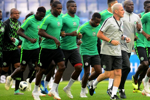 18 super eagles players arrive camp ahead of weekend match against Seychelles