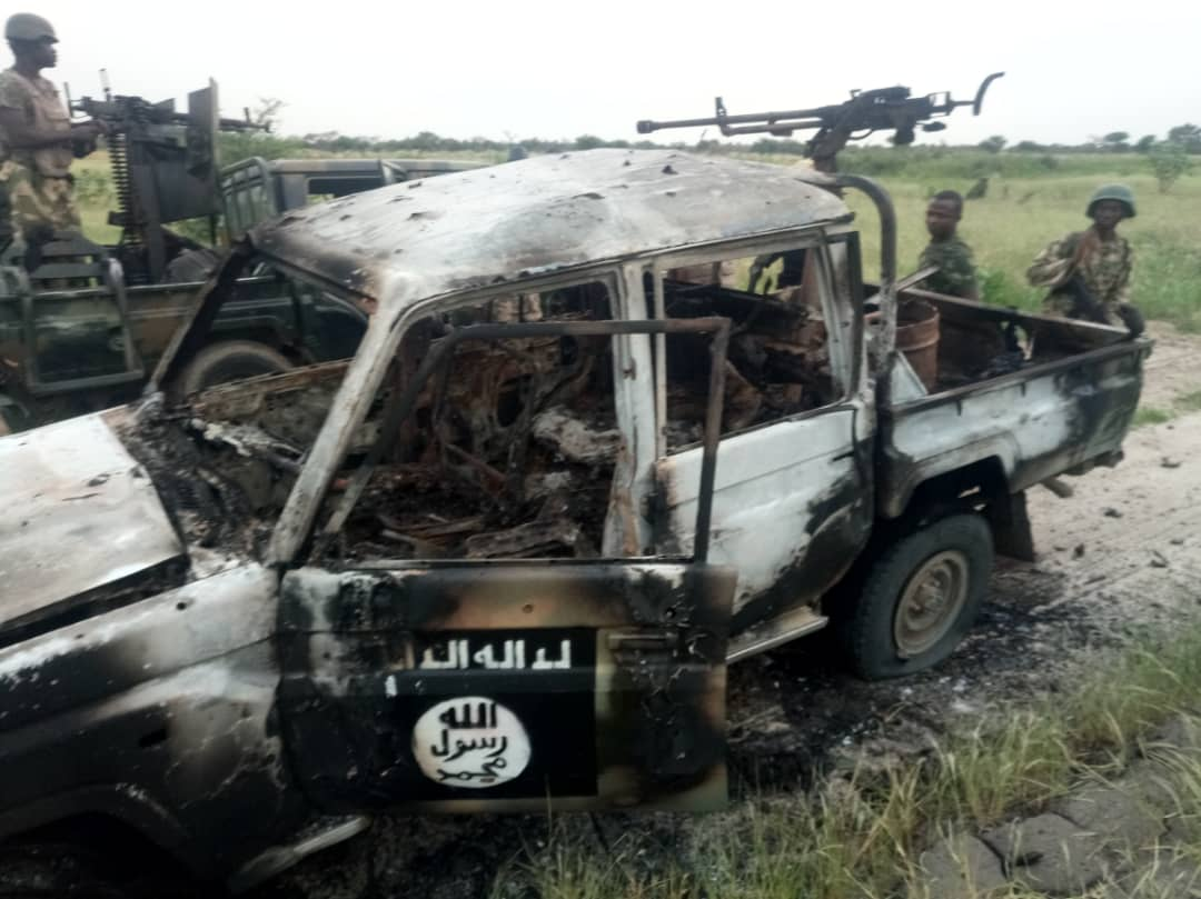 Scores of insurgents killed at Damasak – Nigerian Army