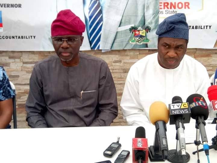 Femi Hamzat steps down for Jide Sanwoolu ahead Lagos guber primaries