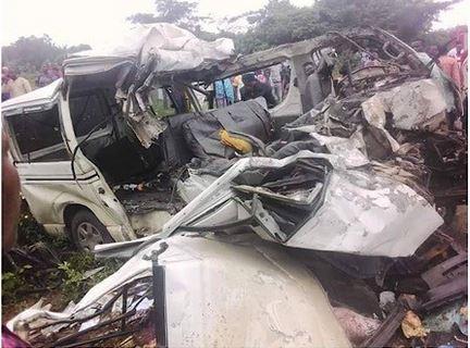 18 persons reportedly killed in Ekiti auto crash