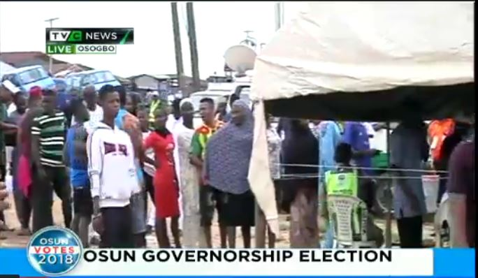 #OsunVotes: Massive turn out as voting begins in Osun