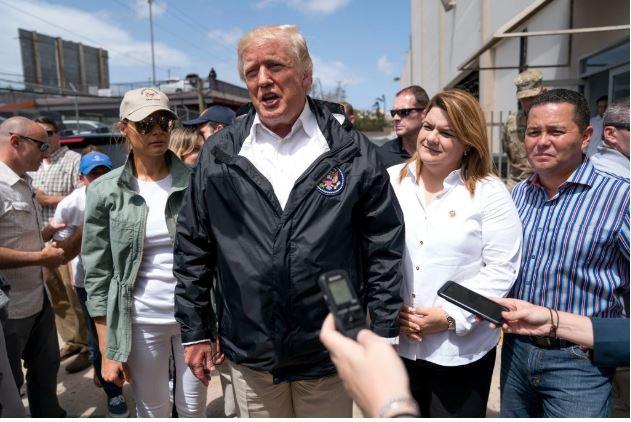 Donald Trump refutes death toll in Puerto Rico