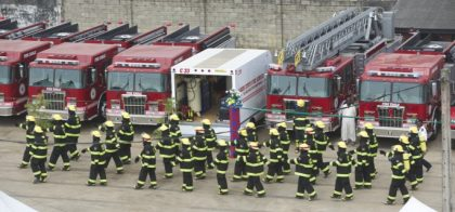 Federal Fire Service promote 616 officers to various levels
