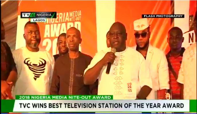 TVC wins big at 2018 Nigeria media nite-out award
