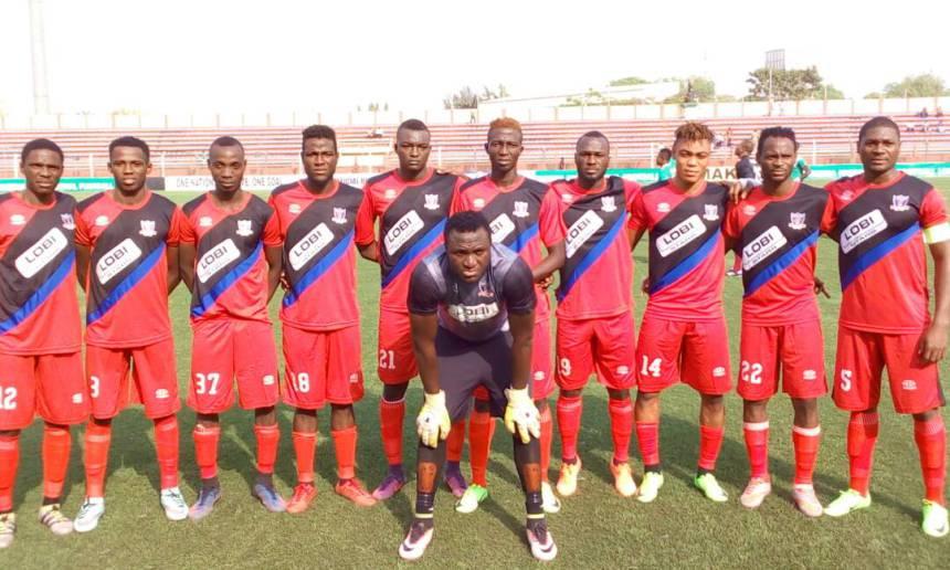 Governor Ortom celebrate Lobi Stars NPFL 2018 victory