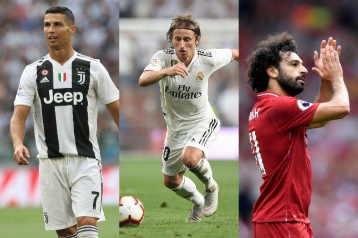 Ronaldo, Modric & Salah nominated for FIFA 'The Best' Men's Player of the year award
