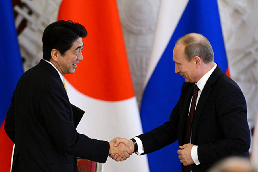 Japan, Russia taking joint efforts to finally sign peace treaty after World War II