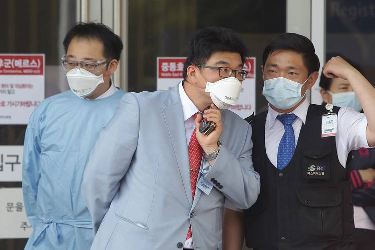 South Korean man infected by MERS virus, first case in three years